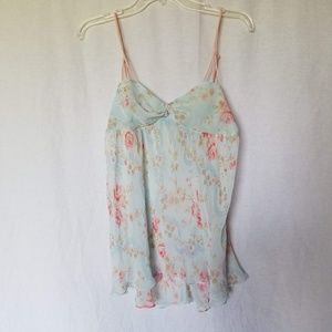 Victoria's Secret Lingerie floral print nightgown